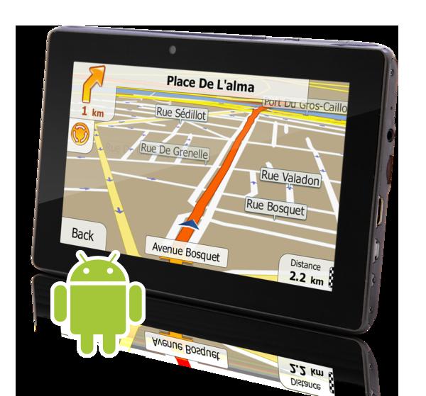 iGO Primo 3D Navigation Software für Android Smarpthones ...